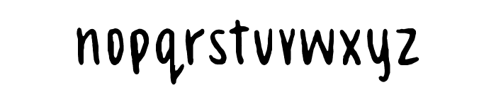 Celeste Hand Font LOWERCASE