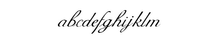 Celeste  Normal Font LOWERCASE