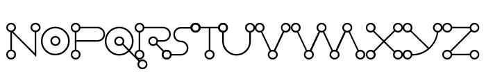 Celestial Alphabet Demo Font UPPERCASE