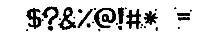Celestial Chunder Font OTHER CHARS