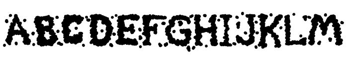 Celestial Chunder Font LOWERCASE