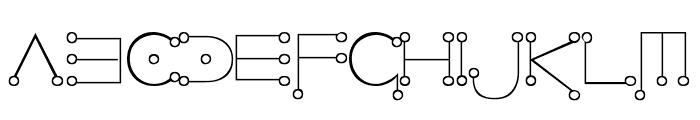 Celestial Font UPPERCASE