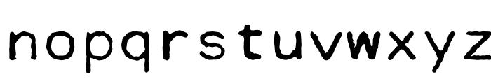 Cella Font LOWERCASE