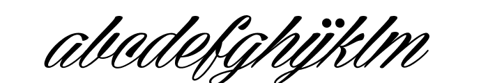 Cellos Script Personal Use Only Font LOWERCASE