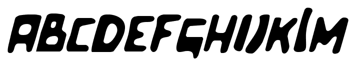 Celluloid Bliss Italic Font LOWERCASE