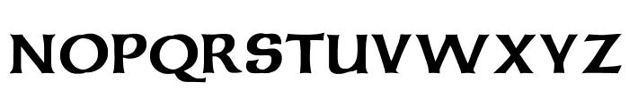 Celtic Bold Font UPPERCASE