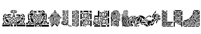 Celtic Designs II Font UPPERCASE