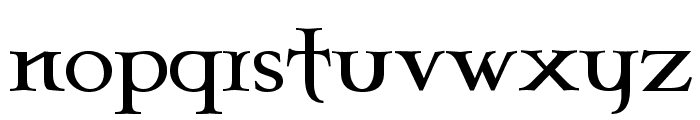 Celtic Garamond the 2nd Font LOWERCASE