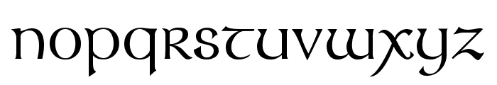 Celtic Knots Font LOWERCASE