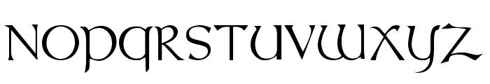 Celtic [Plain]:001.001 Font UPPERCASE