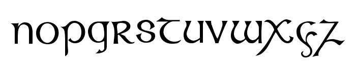 Celtic [Plain]:001.001 Font LOWERCASE