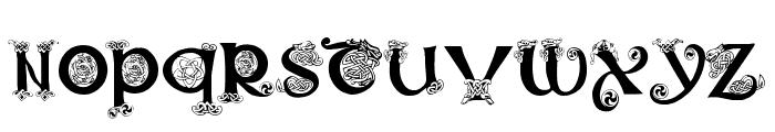 Celtic101 Font LOWERCASE