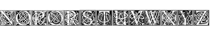 CelticEels Font UPPERCASE