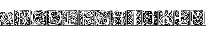 CelticEels Font LOWERCASE