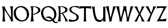 CelticHand Font UPPERCASE