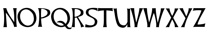 CelticHand Font LOWERCASE
