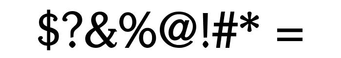Centabel Bold Font OTHER CHARS