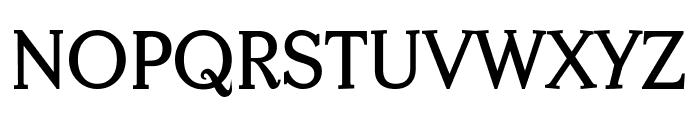 Centabel Bold Font UPPERCASE