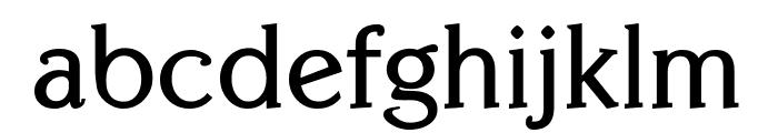 Centabel Bold Font LOWERCASE