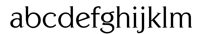 Centabel Book Font LOWERCASE