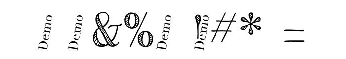 CentaureaDemo Font OTHER CHARS