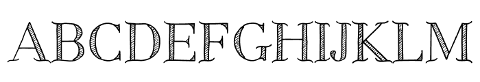 CentaureaDemo Font UPPERCASE