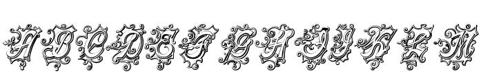 CentennialScriptFancy Three Font LOWERCASE