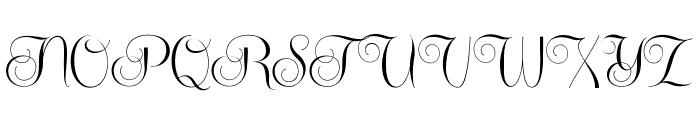 CenteriaScriptDemo Font UPPERCASE