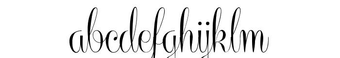 CenteriaScriptDemo Font LOWERCASE
