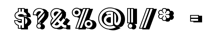 CentreClawsBeam1 Font OTHER CHARS