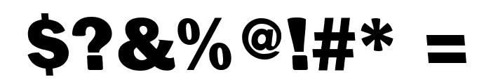 Centuriqua-Ultra Font OTHER CHARS