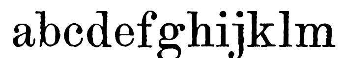 Century modern TT Regular Font LOWERCASE