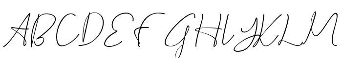 Cepttoni calligraphy Font UPPERCASE