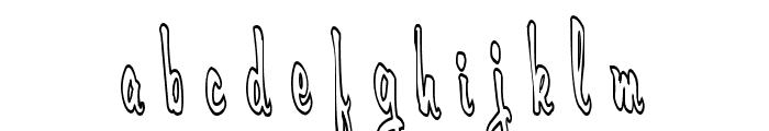 Cerbature Font LOWERCASE