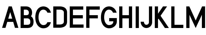 Cerbetica Bold Font UPPERCASE