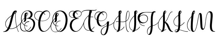 Cerilleta Font UPPERCASE