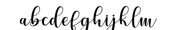 Cerilleta Font LOWERCASE