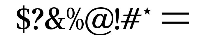 CeriseOpti-Regular Font OTHER CHARS