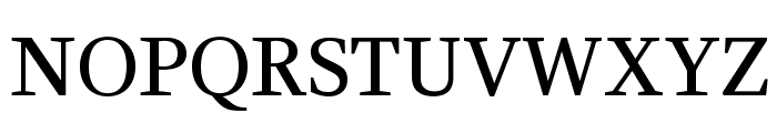 CeriseOpti-Regular Font UPPERCASE