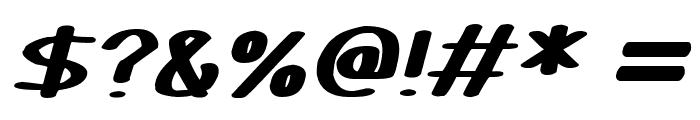 Certainly Italic Font OTHER CHARS