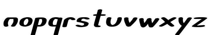 Certainly Italic Font LOWERCASE