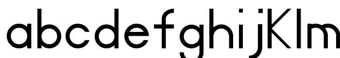 Certified Font LOWERCASE