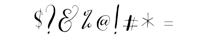 CestLaIsabellyAlt Font OTHER CHARS