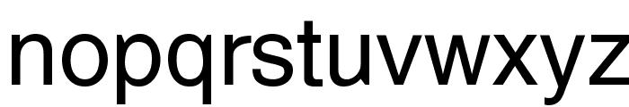 Cetus Font LOWERCASE