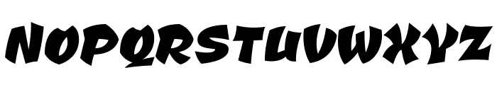CevicheOne-Regular Font UPPERCASE