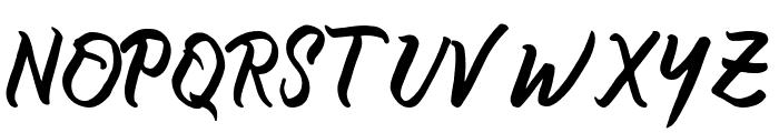 certain Bold Font UPPERCASE