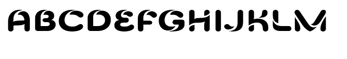 Celari Titling Extended Extra Bold Font LOWERCASE