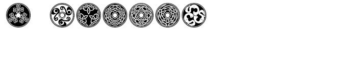 Celtic BA Ornaments Font OTHER CHARS