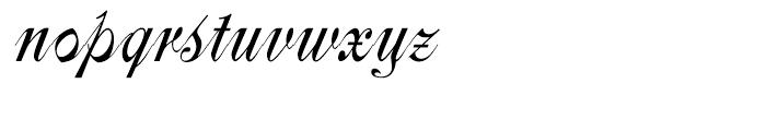 Centennial Script Font LOWERCASE