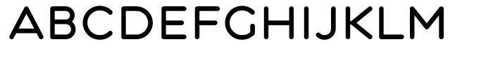 Central Medium Font UPPERCASE